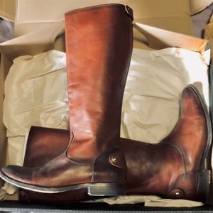 Frye Leather Boots Knee High-WILL TRADE FRYE BOOTS